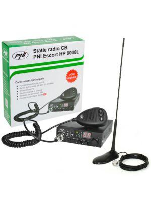 CB PNI ESCORT HP 8000L ASQ radijska postaja + CB PNI Extra 45 antena z magnetom