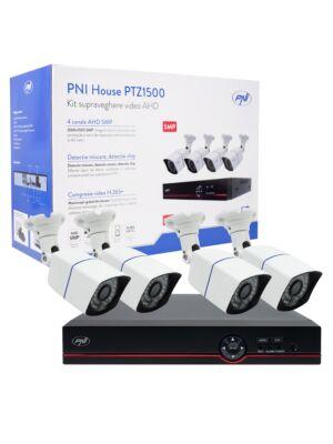 Komplet za video nadzor AHD PNI House PTZ1500